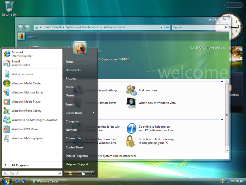 Make your Windows Vista browse