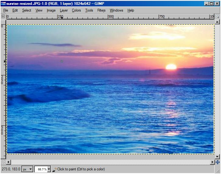 how to change the transparent background in gimp